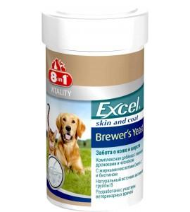 Витамины 8 in 1 Excel Brewers Yeast, 260 таб (185ml) для собак