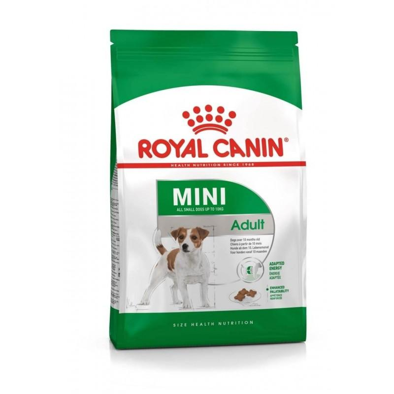 Корм ROYAL CANIN Mini Adult 8 кг (для собак мелких пород от 10 мес. до 8 лет)