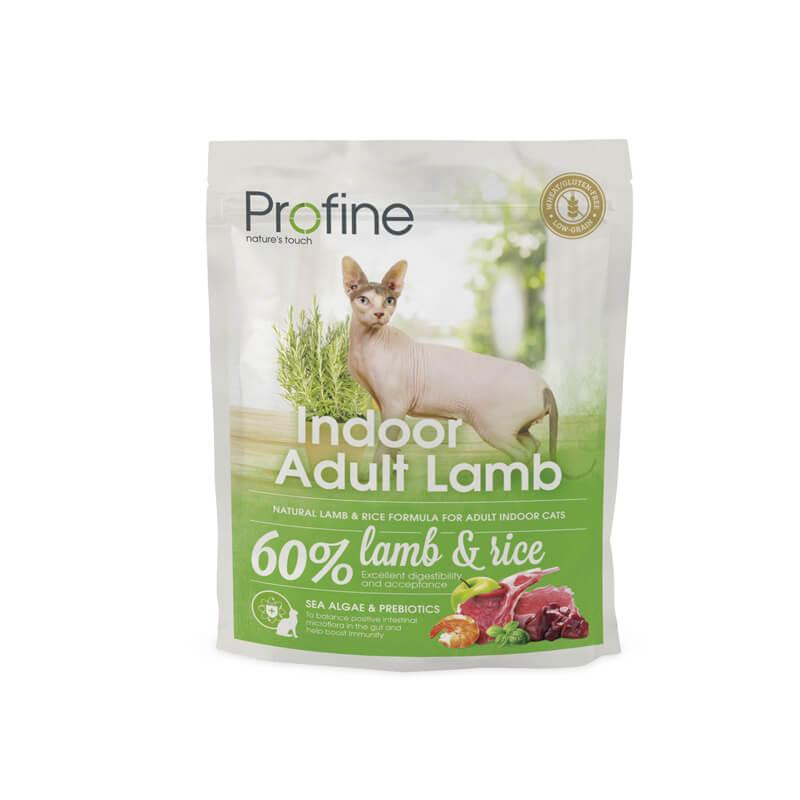 Profine Cat Indoor - сухой корм для кошек живущих в помещении, 300 г