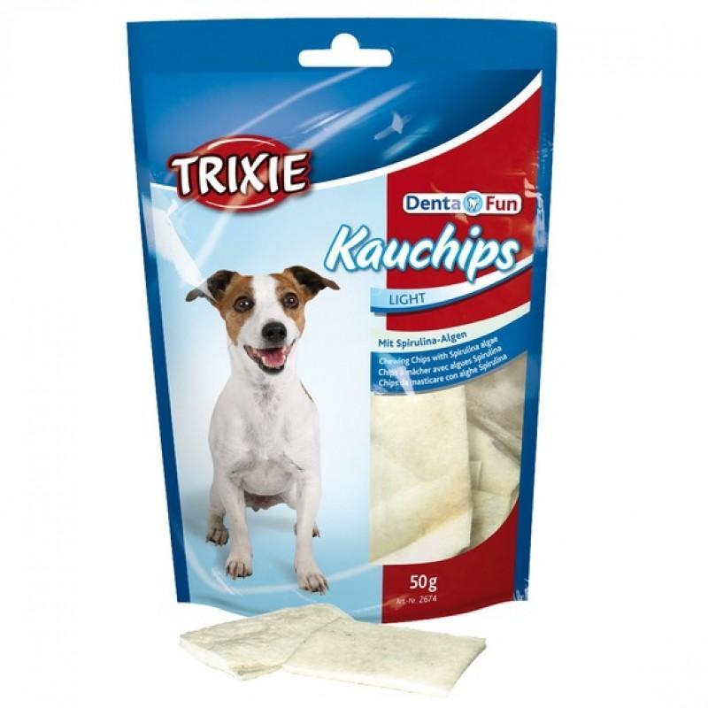 "Лакомство TRIXIE для собак ""KauChips Light"" со спирулиной 50гр (2674)"