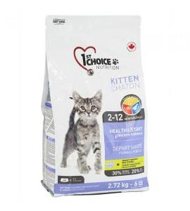 1st Choice Kitten Healthy Start, 2.72 кг ФЕСТ ЧОЙС КОТЕНОК сухой супер премиум корм для котят