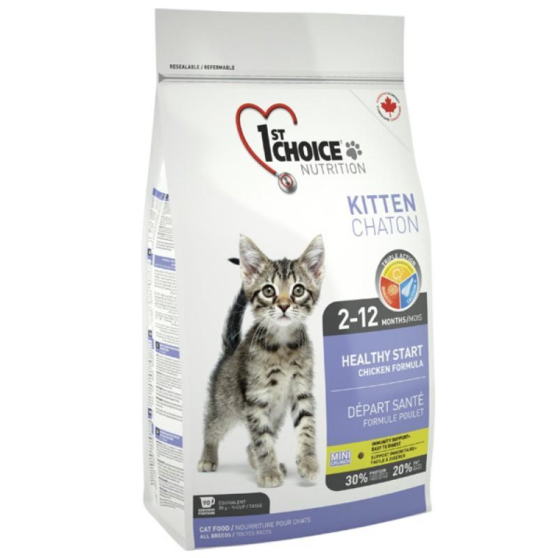 1st Choice Kitten Healthy Start, 0.35 кг ФЕСТ ЧОЙС КОТЕНОК сухой супер премиум корм для котят