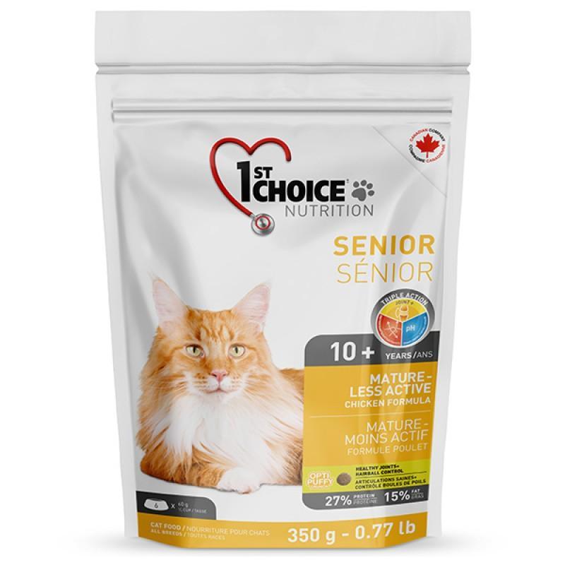 1st Choice Senior Mature Less Aktiv, 0.35 кг ФЕСТ ЧОЙС СЕНЬОР сухой супер премиум корм для пожилых или малоактивных котов