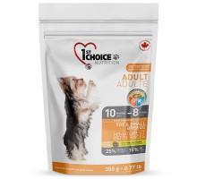 1st Choice (Фест Чойс) Adult Toy & Small Chicken сухой корм для взрослых собак мини и малых пород с курицей 350 г