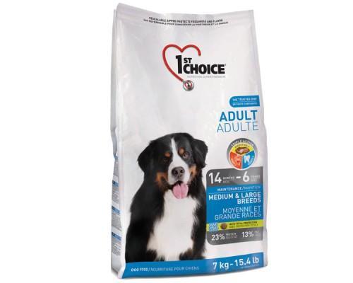 1st Choice (Фест Чойс) Adult Medium & Large Chicken сухой корм для взрослых собак средних и крупных пород с курицей 15 кг