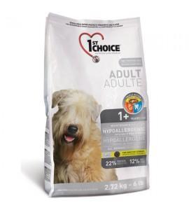 Сухой, гипоаллергенный супер-премиум корм для собак 1st Choice Hypoallergenic Adult, 6 кг ФЕСТ ЧОЙС ГИПОАЛЛЕРГЕННЫЙ С УТКОЙ КАРТОШКОЙ