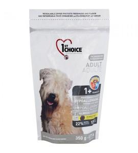 Сухой, гипоаллергенный супер-премиум корм для собак 1st Choice Hypoallergenic Adult, 350 г ФЕСТ ЧОЙС ГИПОАЛЛЕРГЕННЫЙ С УТКОЙ КАРТОШКОЙ