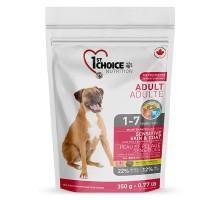 1st Choice (Фест Чойс) Adult Sensitive Lamb & Fish сухой корм для взрослых собак с ягненком и рыбой 350 г