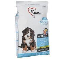 1st Choice (Фест Чойс) Puppy Medium & Large Chicken сухой корм для щенков средних и крупных пород с курицей 15 кг