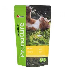 Pronature Original Cat Chicken, 0,34 кг ПРОНАТЮР ОРИДЖИНАЛ КУРИЦА, корм для котов