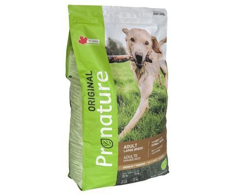 Pronature Original (Пронатюр Ориджинал) Dog Chicken Oatmeal сухой корм для собак крупных пород с курицей 15 кг