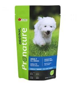 Pronature Original Dog Chicken Oatmeal, 0,34 кг ПРОНАТЮР ОРИДЖИНАЛ КУРИЦА С ОВСЯНОЙ МУКОЙ, корм для собак