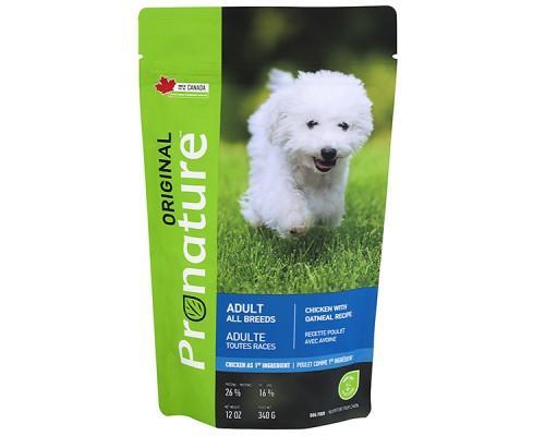 Pronature Original (Пронатюр Ориджинал) Dog Chicken Oatmeal сухой корм для собак всех пород с курицей 340 г