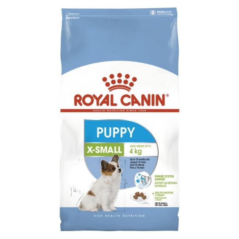 Корм ROYAL CANIN XSMALL PUPPY 3 кг