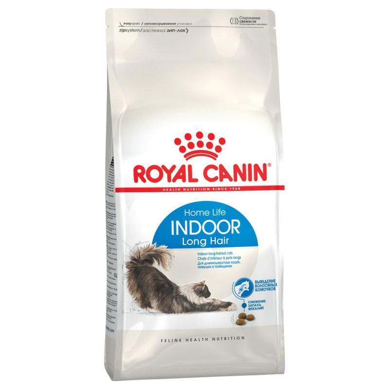 Корм ROYAL CANIN INDOOR LONGHAIR 2 кг