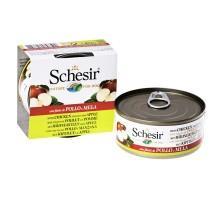 Schesir (Шезир) Chicken Аpple - влажный корм для собак с филе курицы и яблоком в желе 150 г