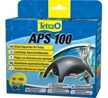 Tetra APS 100 - компрессор для аквариума 50-100 л черный
