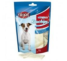 Лакомство для собак Trixie KauChips Light Denta Fun со спирулиной 50 г