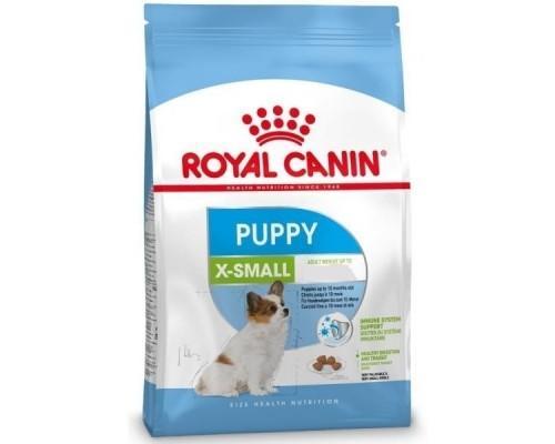 Royal Canin Xsmall Puppy - сухой корм для щенков (до 10 месяцев) мелких пород 1,5 кг