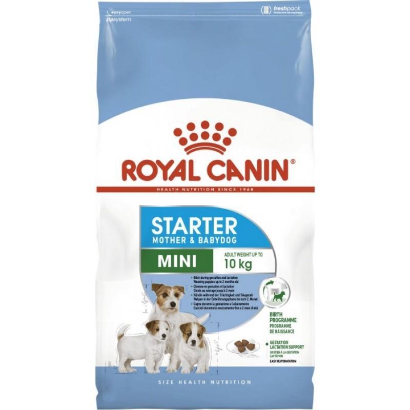 Royal Canin Mini Starter - сухой корм для щенков (до 2-х месяцев) мелких пород 3 кг
